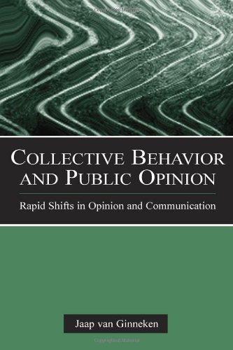Collective Behavior and Public Opinion: Rapid Shifts in Opinion and Communication (European Institute for the Media Seri