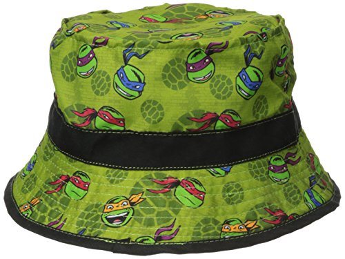 ABG Accessories Boys' Teenage Mutant Ninja Turtles Bucket Hat, Green, Toddler - 1