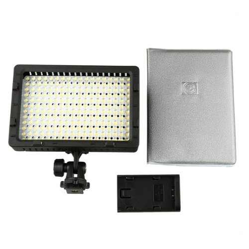 Cn-216 216Pcs Led Dimmable Ultra High Power Panel Digital Camera Light For Canon, Nikon, Pentax, Panasonic, Sony, Samsung And Olympus Digital Slr Cameras