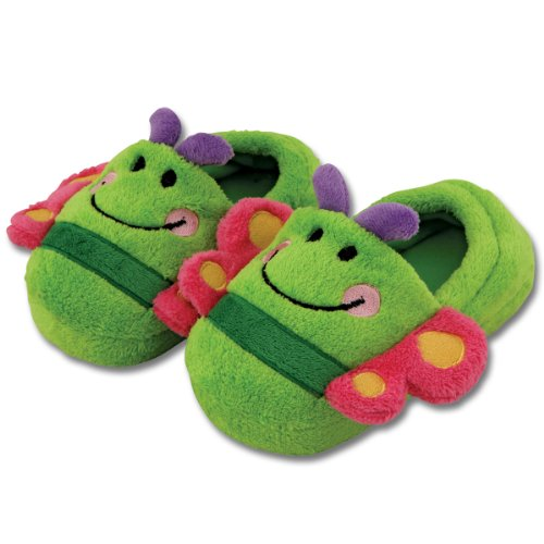 Stephen Joseph Toddler's Silly Slippers (Medium (9/10), Butterfly) - 1