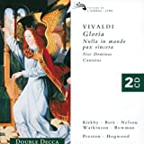 Vivaldi - Gloria · Nulla in mundo pax sincera · Nisi Dominus · Cantatas / Kirkby · Bott · Nelson · Watkinson · Bowman · Preston · AAM · Hogwood
