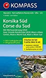 Korsika Süd - Corse du Sud - Weitwanderweg GR20: Wanderkarten-Set mit Aktiv Guide. GPS-genau. 1:50000 (KOMPASS-Wanderkarten, Ban
