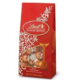 Lindt Chocolate Lindor Truffles, Milk Chocolate, 19 Ounce