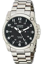 Citizen Men's BJ8070-51E Eco-Drive STX43 Shock Proof Titanium Watch