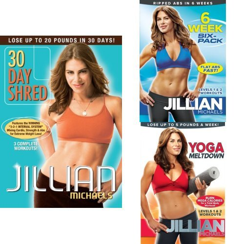 Jillian Michaels Bundle: 30 Day Shred, Plus 2 More