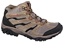 NEVADOS Mens Madre Mid Dark Brown/Black/Red Boots shoe Sz: 12