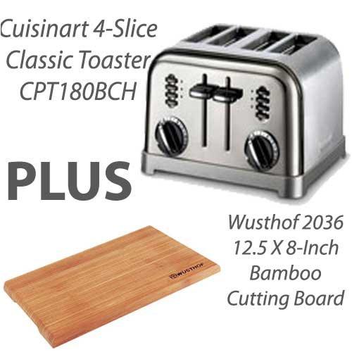Cuisinart Metal Classic 4 Slice ToasterCrux Crx14545