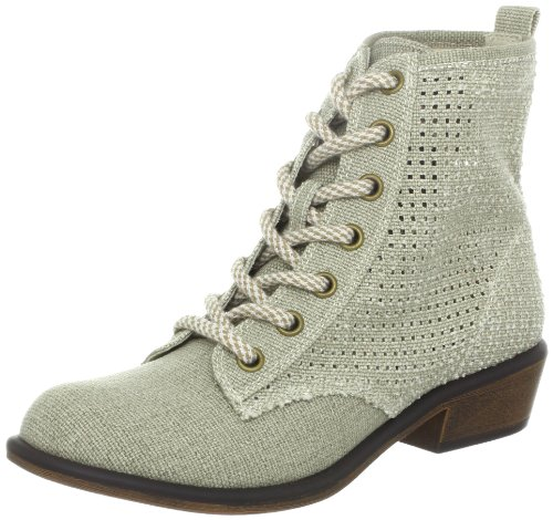 Dirty Laundry Women's Play Time Lace-Up Boot,Natural/Natural,10 M US
