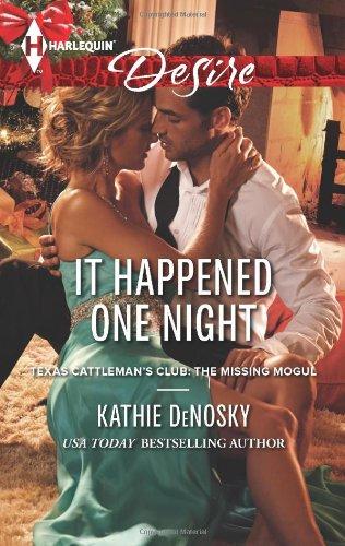 Image of It Happened One Night (Harlequin Desire\Texas Cattleman's Club:)