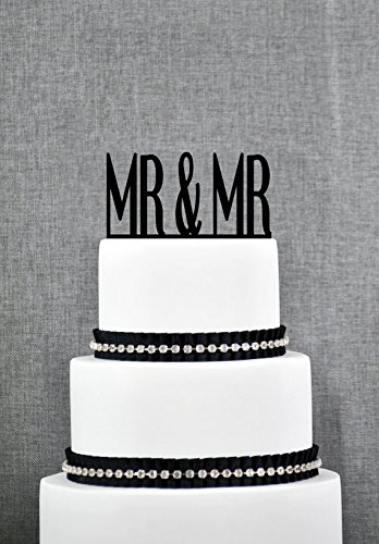 Mr and Mr Cake Topper-gay Cake Topper-wedding Cake Topper