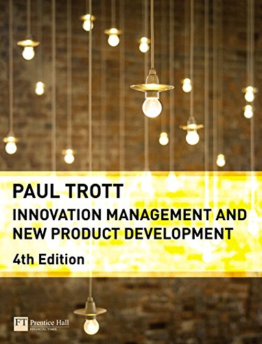 Innovation Management and New Product Development (4th...