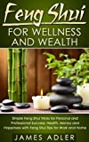 img - for Feng Shui For Wellness And Wealth: Simple Feng Shui Tricks For Personal And Professional Success- Health, Money and Happiness With Feng Shui Tips For Work ... of Attraction, Declutter Your Home Book 1) book / textbook / text book