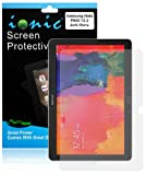 Ionic Screen Protector Film Matte Clear (Anti-Glare Anti-Fingerprint) for Samsung Galaxy Note Pro 12.2 NotePro 12.2/ Tab Pro 12.2 TabPro 12.2 (3-pack)[Lifetime Warranty]