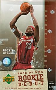 2006/07 Upper Deck Rookie Debut Basketball Hobby Box