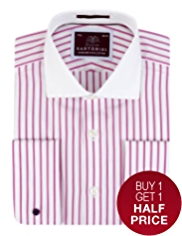 Sartorial Pure Cotton Striped Winchester Shirt