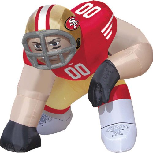 San Francisco 49ers Bubba Inflatable Lawn Decoration