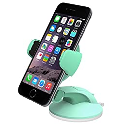 iOttie Easy Flex 3 Car Mount Holder for iPhone 6s/6, Galaxy S7/S7 Edge, S6/S6 Edge - Retail Packaging - Mint
