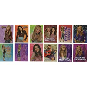 Hannah Montana Stickers - Set of 12 Vending Machine Stickers