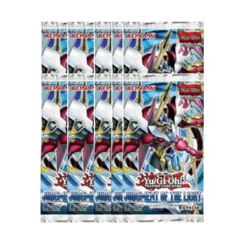 YuGiOh Judgment of the Light Booster Pack English 1st Edition X 10 - 1