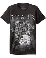 HBO'S Game of Thrones Men's Winter Is Coming Stark T-Shirt