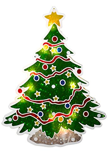 Holographic Christmas Tree