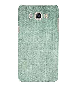 PrintVisa Faded Green Pattern 3D Hard Polycarbonate Designer Back Case Cover for Samsung Galaxy J7 2016 Edition