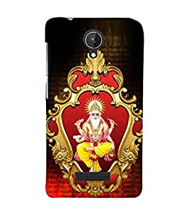 Lord Vishwakarmaa 3D Hard Polycarbonate Designer Back Case Cover for Micromax Canvas Spark Q380