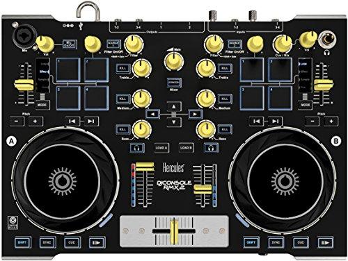 hercules-djconsole-rmx-2-controleur-dj-metal-robuste-avec-audio-professionnel-gris