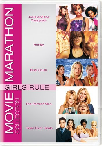 movie-marathon-collection-girls-rule-josie-and-the-pussycats-honey-blue-crush-the-perfect-man-head-o