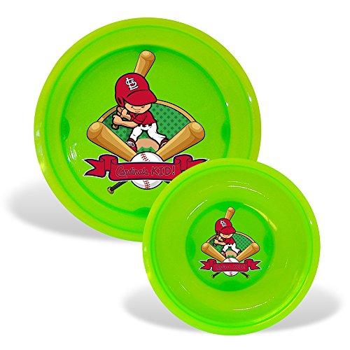 St. Louis Cardinals Mlb Toddler Plate And Bowl Set