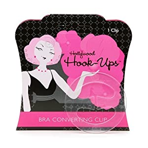 Hollywood Fashion Tape Hook-Ups Bra Converting Clip 2 clips