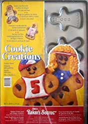 Ekco Baker s Secret Cookie Sheet - BOYS & GIRLS Shape Cookie Creations