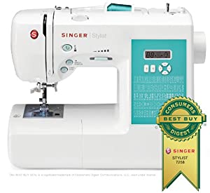 SINGER Fashion Mate Stylist Computerized Free-Arm Sewing Machine with Automatic Needle Threader by Singer Sewing Co.