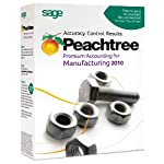 Peachtree Premium Accounting for Manufacturing 2010