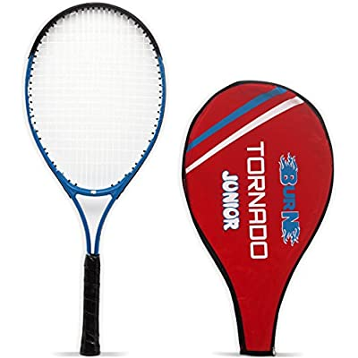 Burn 25 Tennis Racquet, Junior Standard (Blue/Black)