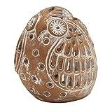 Terracotta Owl Tealight Holder