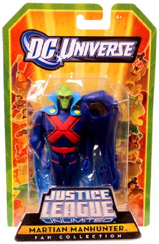 Buy Low Price Mattel DC Universe Justice League Unlimited Fan Collection Action Figure Martian Manhunter (B004AFEAV6)