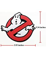 Ghost-Buster embroidered sew iron on patches 1 Pcs.