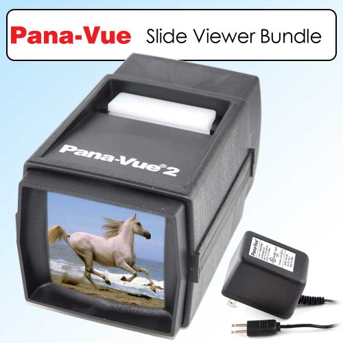 Panavue 6562 Slide Viewer 2 FPA002 +Panavue AC Adapter/Transformer