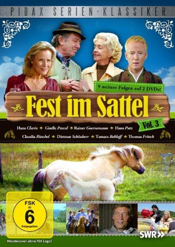 Fest im Sattel, Vol. 3 - Weitere 9 Folgen der beliebten Reiterserie (Pidax Serien-Klassiker) [2 DVDs]