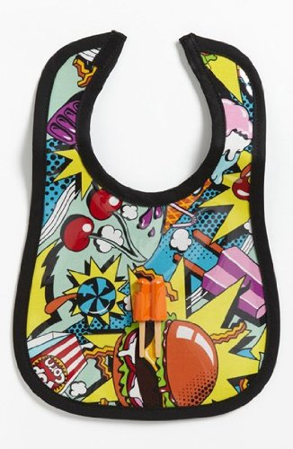 Mini Maniacs - Food Fight Bib - 1