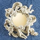 Design Toscano EU15817 Cherub's Playful Dance Petite Wall Mirror