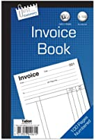Just Stationery Invoice Book