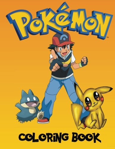 Pokemon Coloring book: A great coloring book on the pokemon characters. Great starter book for young children aged 3+. An A4 80 page book for any avid fan of pokemon (Pokemon Coloring Book compare prices)