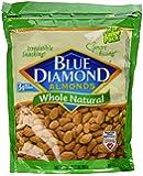 Blue Diamond, Naturals, Whole Almonds, 32oz Bag