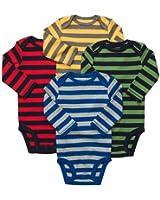 Carter's Baby Boys 4-pack Long-sleeve Bodysuits (NB-24M)
