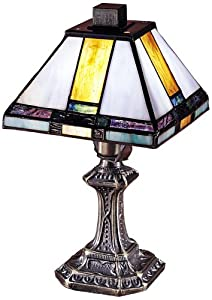 Dale Tiffany 8706 Tranquility Mission Mini Table Lamp