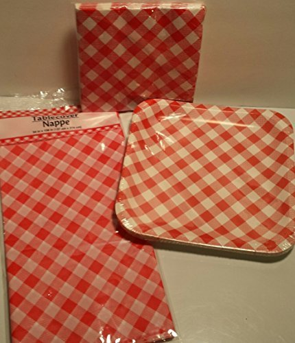 retro-summer-time-red-white-picnic-plates-14-count-napkins-20-count-and-tablecover-set-by-party