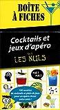 Boite à fiches cocktails et jeux d'apéro pour les Nuls, 3e édition...