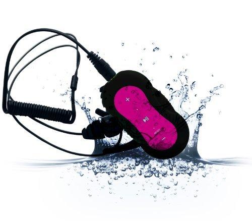 Diver 4 GB waterproof mp3 player with waterproof earphones